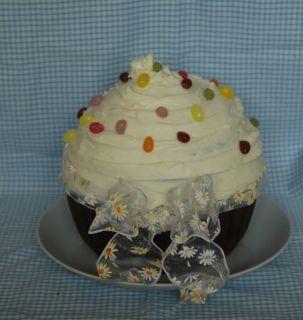 XXXXL Jumbo Giant Cupcake Mold Silicone Bakeware Cake Mould Pan
