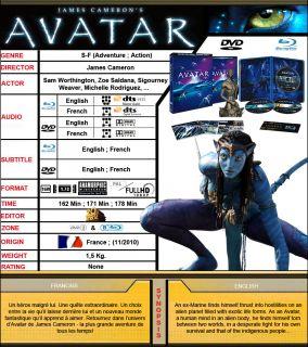 Avatar   Ultimate Edition Collectors Box Set [3 Blu Ray + 3 DVD].