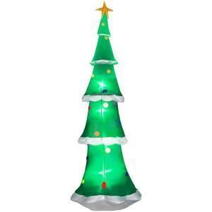 Gemmy 9 ft. Christmas Tree Giant Lighted Airblown Inflatable Yard
