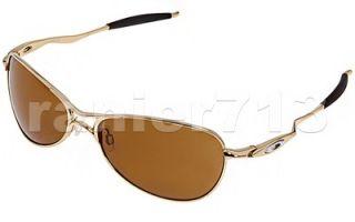 New Oakley Crosshair s Sunglasses Polished Gold Bronze