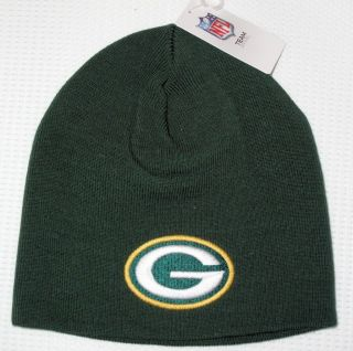 NFL Team Apparel Green Bay Packers Knit Hat Beanie New