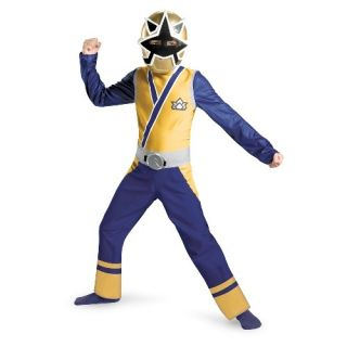 Power Rangers Gold Ranger Samurai Classic Child Costume Size 7 8