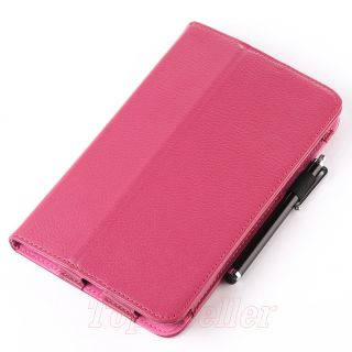 PU Leather Folio Case Cover for Google Asus Nexus 7 Tablet with Free
