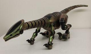 WOW Wee Roboraptor Green Dinosaur Remote Control Robot Toy