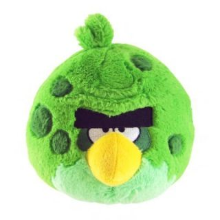 Birds 5 Space Green Bird Plush with sound Toys for Children Fast Ship