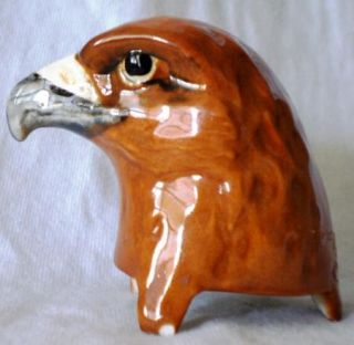 Vintage Beswick Large Golden Eagle Decanter Beneagles Scotch Whiskey