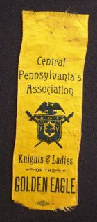 Knights of The Golden Eagle Central Pennsylvania PA