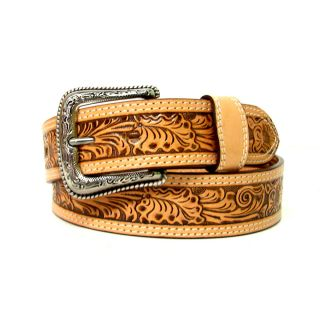 Nocona Mens Embossed Western Belt N2496848