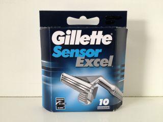 Gillette Sensor Excel Blades Cartridges Razor Blades 10ct Black Friday