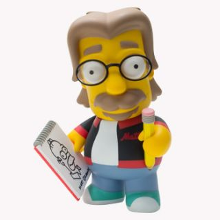 Kidrobot The Simpsons Matt Groening 6 inch Vinyl Figure
