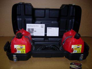 ATV Tamarack Fuel R Storage Cargo Box Gas Fuel Cans