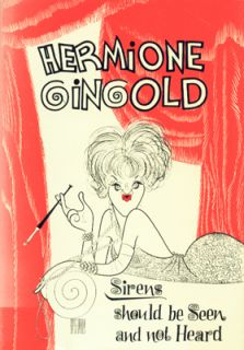 collection of actress/comedienne Gingolds opinions and reminiscences