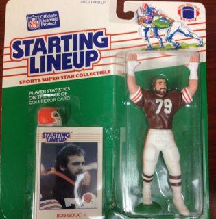 Vintage 1988 Bob Golic Cleveland Browns Football NFL Starting Lineup
