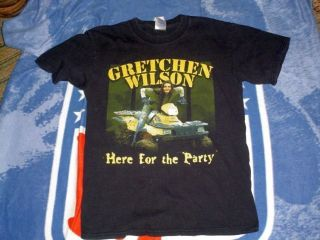 Gretchen Wilson Here for The Party Tour T Shirt Small