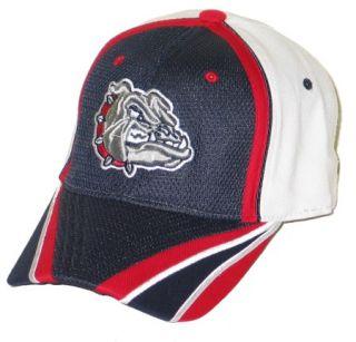 Gonzaga Bulldogs Zags Splitside Flex Fit Hat Cap M L NW