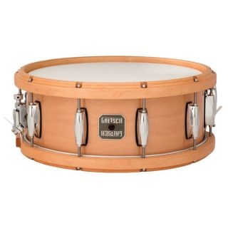Gretsch 5 5 x 14 Contoured Wood Hoop Maple Snare Drum