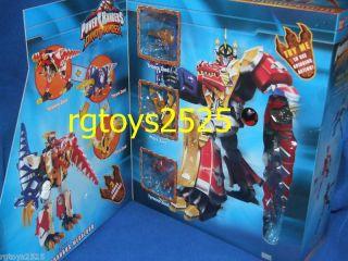 Power Rangers Dino Thunder Deluxe Thundersaurus Megazord New RARE