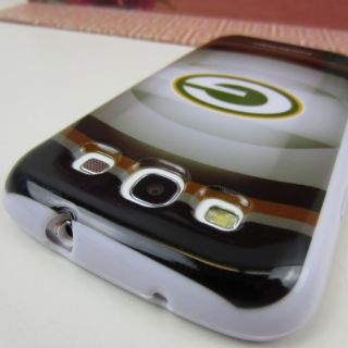 Green Bay Packers Rubber Skin Case Cover Samsung Galaxy s III 3 S3