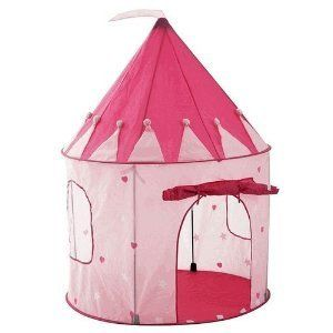 Girls Playhouse Pink Princess Castle Play Tent for Kids Indoor Play