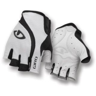Giro Cycling Gloves Zero Road Glove Black White Large
