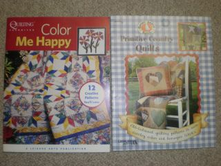 Gooseberry Patch Primitive Country Quilts and Color Me Happy Quilting