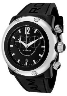 Glam Rock Watch GW25123 Womens Miami Beach Chronograph Black Dial