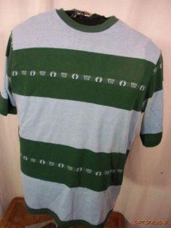 Vtg 60s 70s.Hang Ten .Multiple Feet Logo PrintT Shirt.Large.Surf
