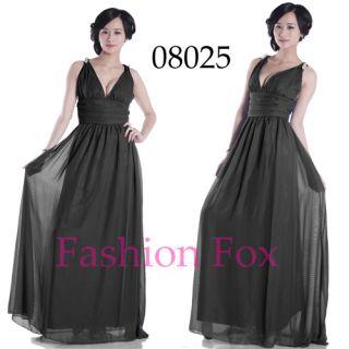 Sleeve Long Evening Dresses Maxi Dress Fashion Gowns 08025 SZ 08