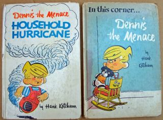 Dennis The Menace Books Hardcover 1957 58 1st Editions