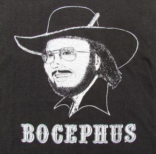 Vtg Hank Williams Jr 1984 Tour T Shirt bocephus Rock Music Concert