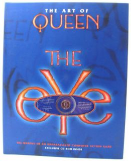 Art of Queen The Eye Video Game HC Book w CD ROM New