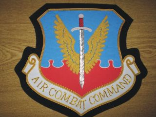 ACC Strategic Air Combat Command Bomber Arm Fleet Nose Force Patch