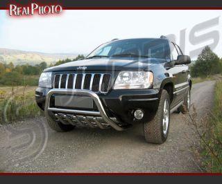 Jeep Grand Cherokee 99 04 Bull Bar Side Steps Gratis Stainless Steel