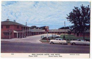 092612A Vintage Grand Island NE Nebraska Postcard Erin Rancho Motel