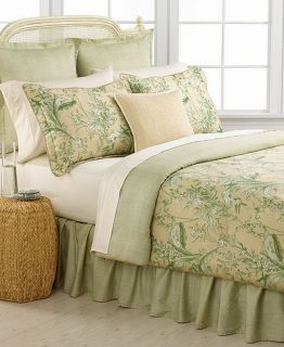 Ralph Lauren Grand Isle 300T Queen 4 Piece Comforter Bed in A Bag Set
