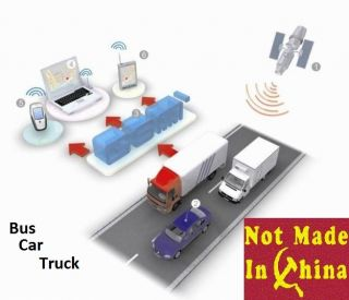 Real Time GPS Vehicle Car Bus Truck Tracker Tracking GPS GSM