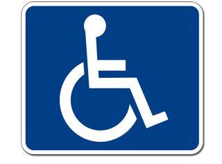 Wheelchair Access Sticker Decal Handicap Logo Wheel Car
