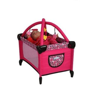 New GRACO Baby Doll PACK n PLAY Yard Crib Pen Bed with Bassinet Gym