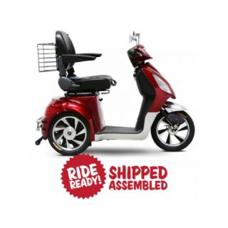 EW 36 R Senior Electric Mobility Scooter New Speed Control Red