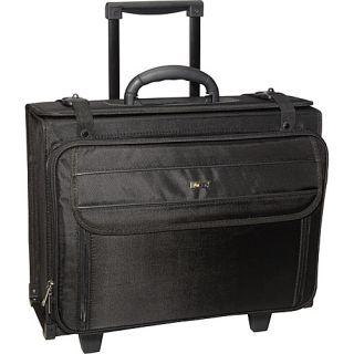 Solo Rolling Laptop 17 Catalog Case Black