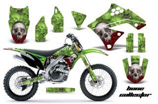 AMR Racing MX Graphic Kit Sticker Decal Bike Kawasaki KXF250 250f 09