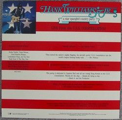Hank Williams Jr A Star Spangled Country Party Navy84