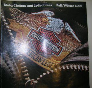 Harley Davidson Parts Accessories Catalog 1990