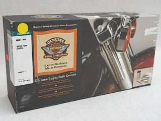 Harley Davidson Road King FLHR Chrome Fork Covers