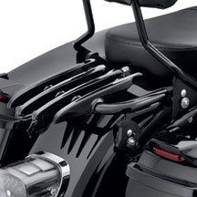 Harley Davidson Detachable Black Stealth Luggage Rack 53566 09