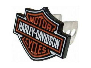 Harley Davidson Solid Metal Bar & Shield Hitch Cover Plug #2216