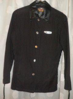 Harley Davidson Jacket w Leather Trim Size Medium WomenS