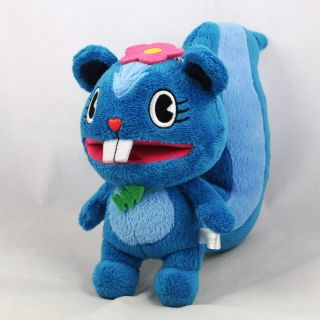 Happy Tree Friends Petunia Blue Plush Stuffed Doll Ball Chain 7 17cm
