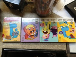 New Happy Tree Friends 4 DVD Pack