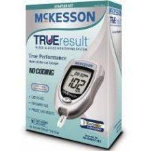 McKensson TRUE RESULT Blood Glucose Monitoring System Glucometer